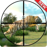 Jungle animal hunting:jeep drive 2019 APK