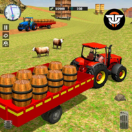 Real Farming Cargo Tractor: New Driving Sim 2020 APK