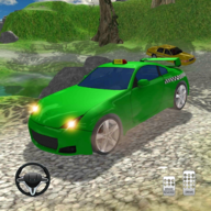 Hill Driving Simulator - mountain taxi driver game APK