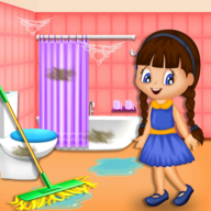 Girl Family House Cleaning APK