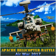 Apache Helicopter Battle Air War 2017 APK