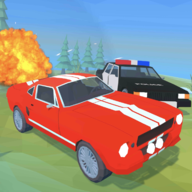 Angry Cops : Car Chase Game APK