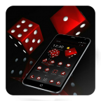 Red Dice Black Business Theme APK