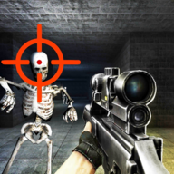 Pixel Skeleton Shot APK