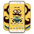 Happy friend cute cartoon icon theme APK