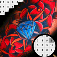 Tattoo Art Color By Number-Pixel APK