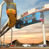 Elevated Train Driving Simulator: Sky Tram Driver APK