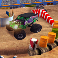 Cyber Truck Monster Car Games Simulator APK