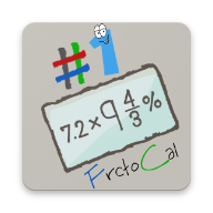 FractoCal: Free Fraction Calculator APK