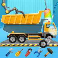 Kids Truck Adventure: Road Rescue Car Wash Repair APK
