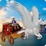 Flying Horse Taxi City Transport APK
