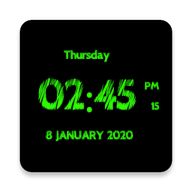 Super Clock Live Wallpaper APK