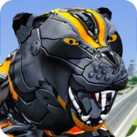 Futuristic Robot Transform Battle Tiger Robots War APK