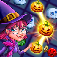Halloween Witch Connect APK