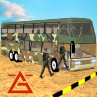Off Road Army Bus Driving:Soldier Transport Duty APK