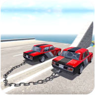 Chained Car Impossible Game APK