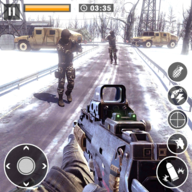 Call for War - Winter survival Snipers Battle WW2 APK