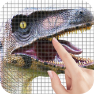 Dinosaurs Color by Number - Pixel Art Game APK