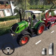 Farming Simulator - Big Tractor Farmer Driving 3D APK