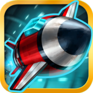 Tunnel Trouble - Space Jet 3D Games APK