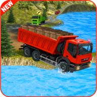 Indonesian Cargo Truck Driver APK