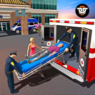 Police Ambulance Rescue Driving: 911 Emergency APK