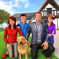 Virtual Family Pet Dog Family Adventure Game APK